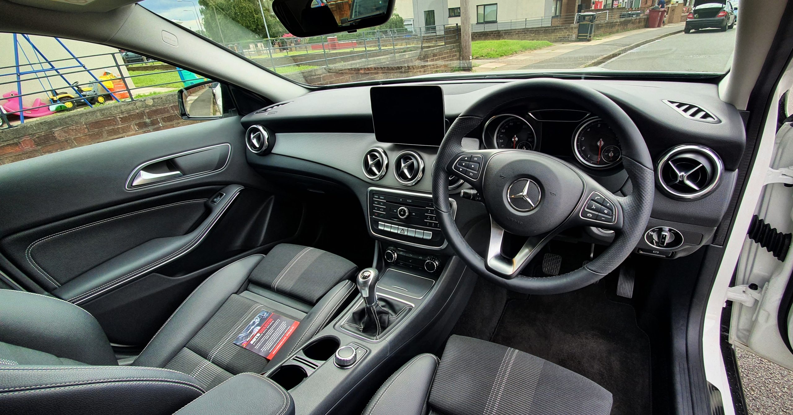 Clean Mercedes Interior