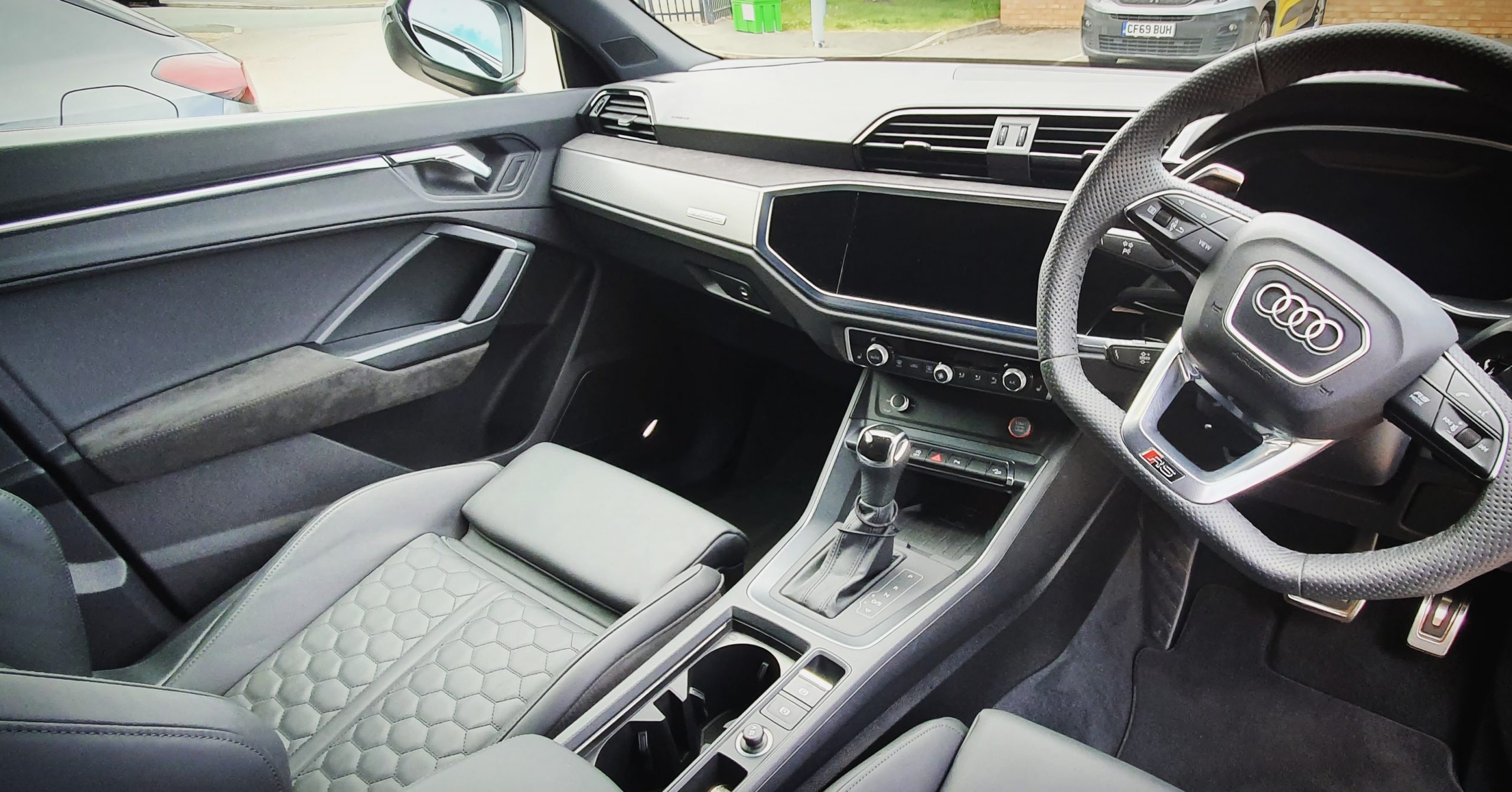 Interior Cleaning for Audi