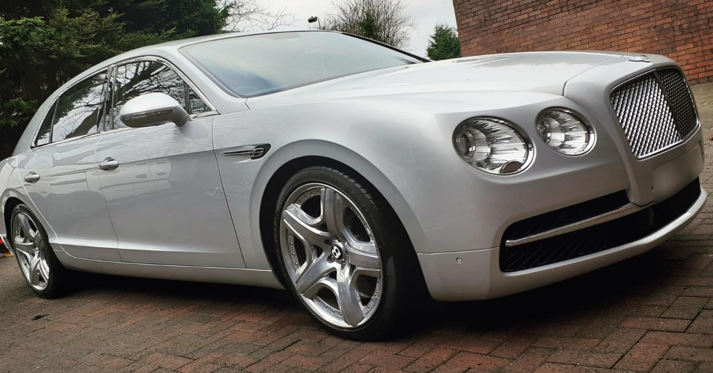 Bentley Exterior and Interior Clean